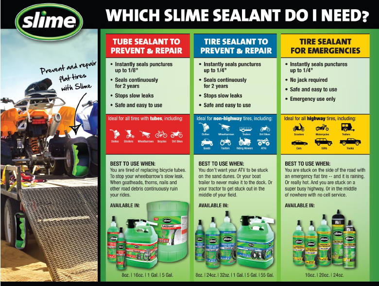 Amazon Slime 10056 Tube Sealant 16 Oz Automotive