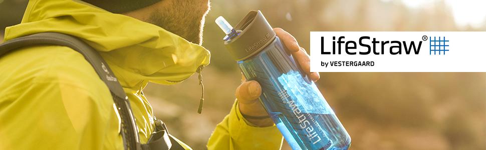 LifeStraw Go 2-Stage - Botella con filtro de agua de 2 etapas: Amazon.es: Deportes y aire libre