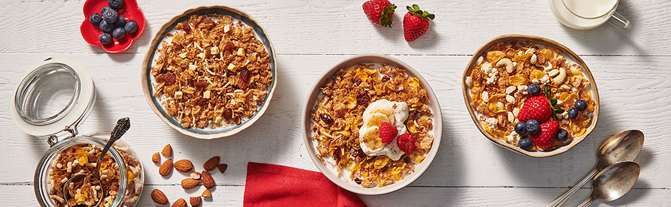 Cereal; Breakfast; healthy breakfast; tasty breakfast; Uncle Tobys; Plus; Whole grain; Wholegrain
