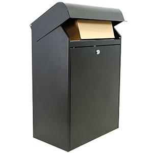 Pakket doos in zwart