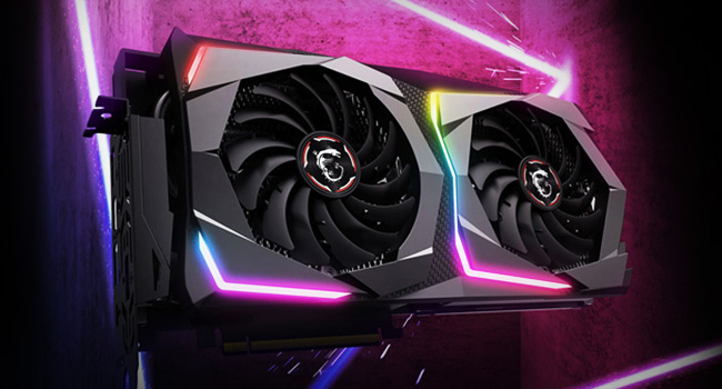 MSI RTX 2070 Turing GPU RGB Lights