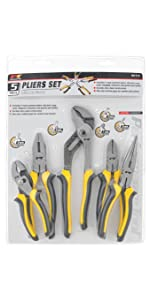 ... 5pc Pliers Set ...