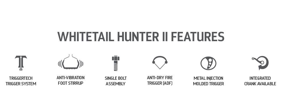 Barnett Whitetail Hunter II Features