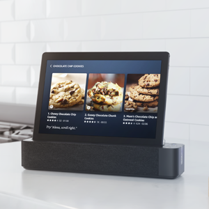 Tablet which is also a smart screen with Alexa