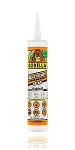 Gorilla Max Strength Construction Adhesive