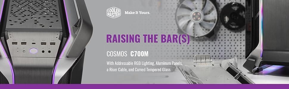 Cooler Master Cosmos C700m Argb Aluminiumgehäuse Mit Computer Zubehör