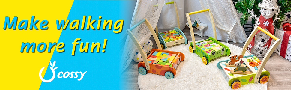 Amazon.com: Cossy Push Toy, Fox: Toys & Games