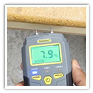pin-type moisture meter, moisture meter, moisture detection