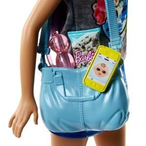 Barbie Quiero Ser Niñera - Muñeca y Accesorios