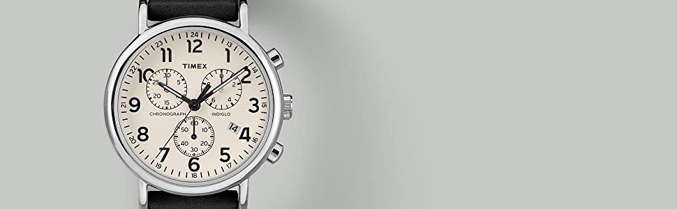 Timex Weekender Chrono Chronopgraph