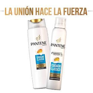 Pantene Pro-V Cuidado Clásico Acondicionador en Espuma para el Cabello Fino y Normal - 180 ml