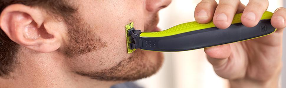 Philips QP2520/30 OneBlade - Recortador de barba, recorta, perfila ...