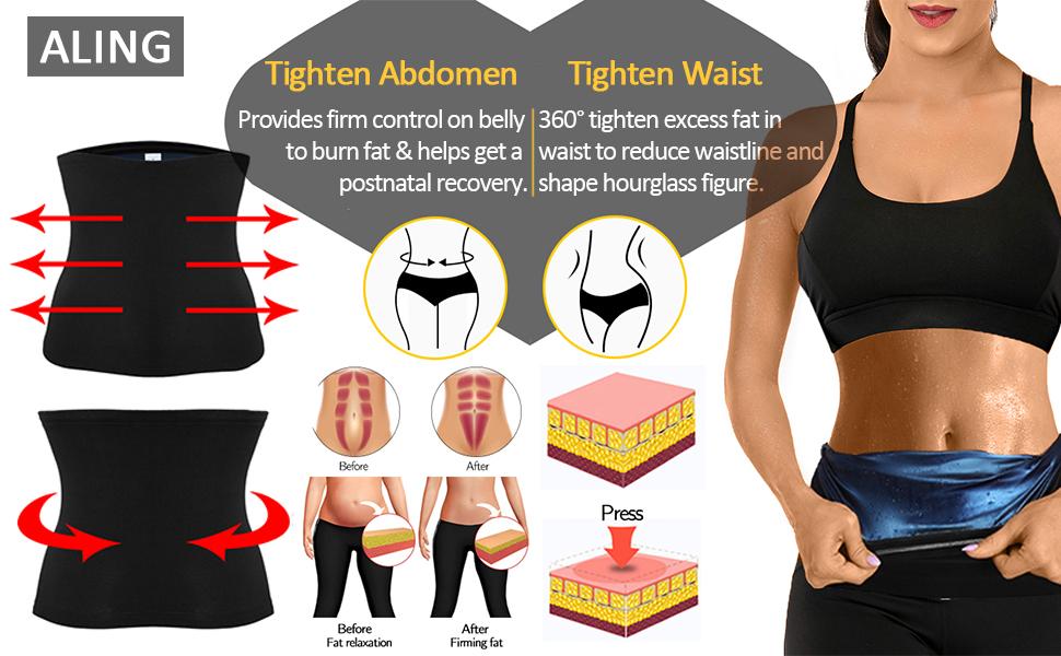 sweet sweat,sauna belt,kiwi rata neoprene sauna waist trainer,sweat trimmer,sweat workout