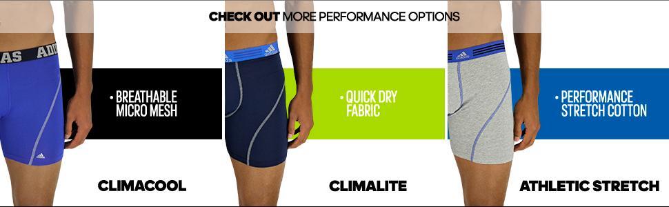 Amazon.com: adidas Men's Sport Performance Climalite Trunk