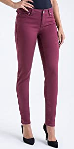 celebrity pink junior super soft color skinny