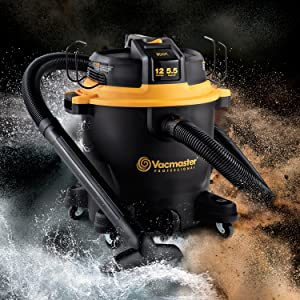 Vacmaster Professional - Professional Wet/Dry Vac, 12 Gallon, Beast Series, 5.5 HP
