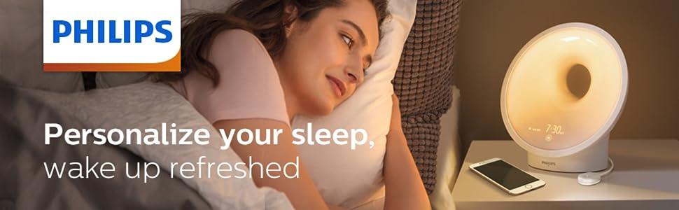 wakeup light, sleep light, sleep better, helps with sleep, better sleep, solid sleep, natural wakeup