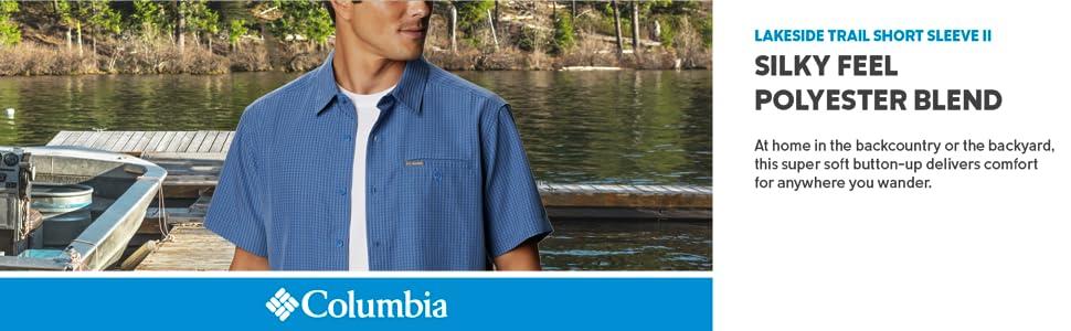 Columbia Men's Lakeside Trail Short Sleeve II Shirt