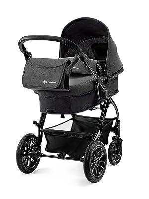 Kombikinderwagen Kinderwagen Kinderkarre Babyschale Kinderkraft Moov 2in1 blau