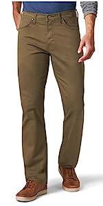 Wrangler Authentics Straight Fit Twill Pants