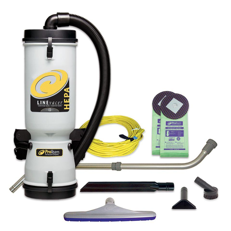 Amazon.com: ProTeam Commercial Backpack Vacuum Cleaner