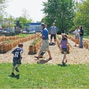 The Kearny Community Garden in Kearny, NJ.