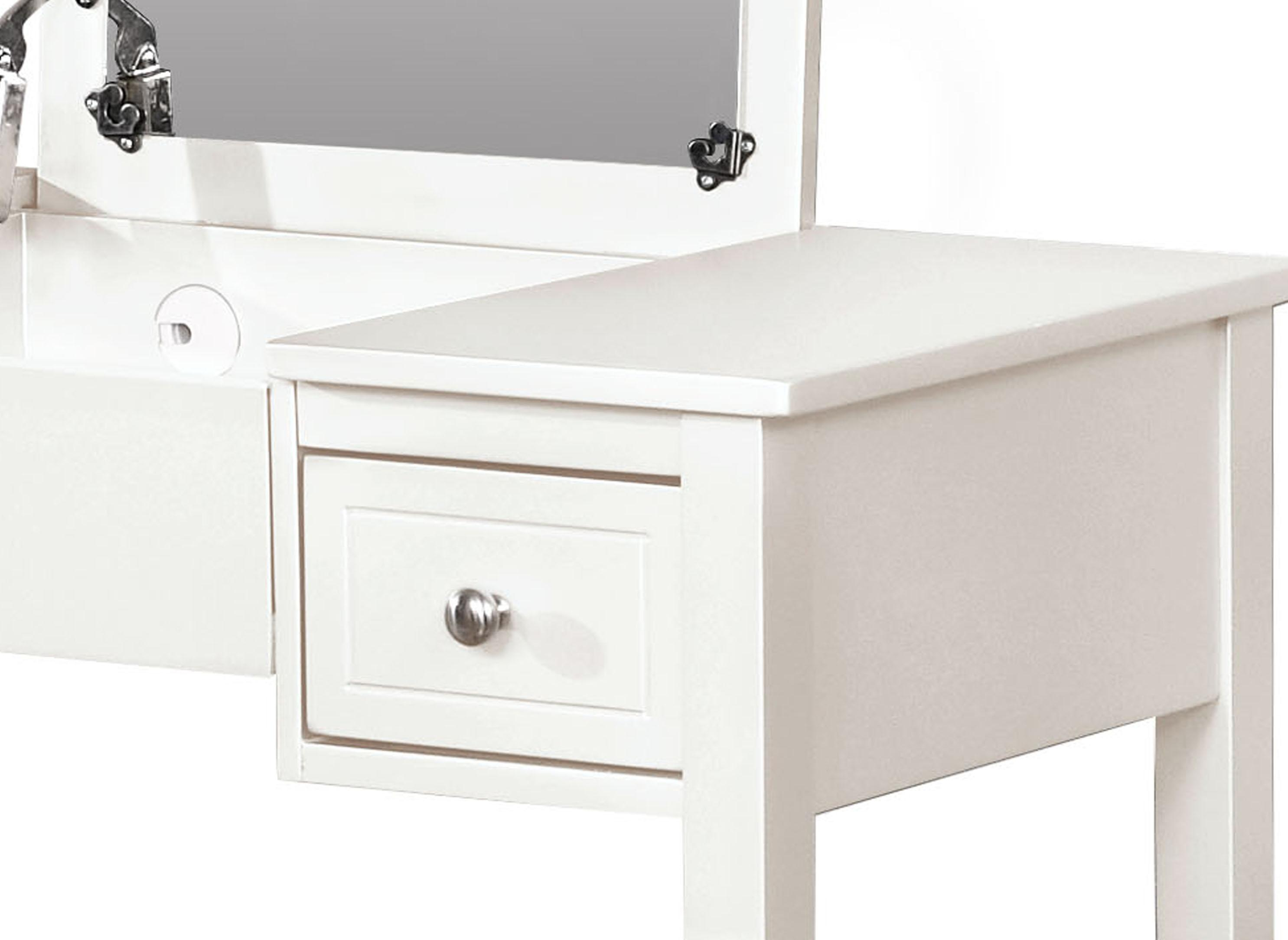 Amazon Com Linon Home Decor Vanity Set Butterfly Bench White