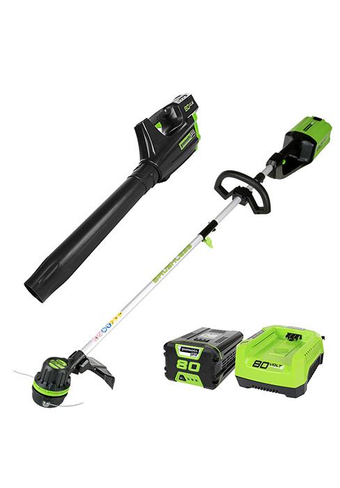 Amazon.com: GreenWorks STBA40B210 G-MAX40V paquete de ...