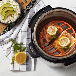 instant pot roasting rack pressure cooker accessories 6 quart 8 slow crock instapot insert quick