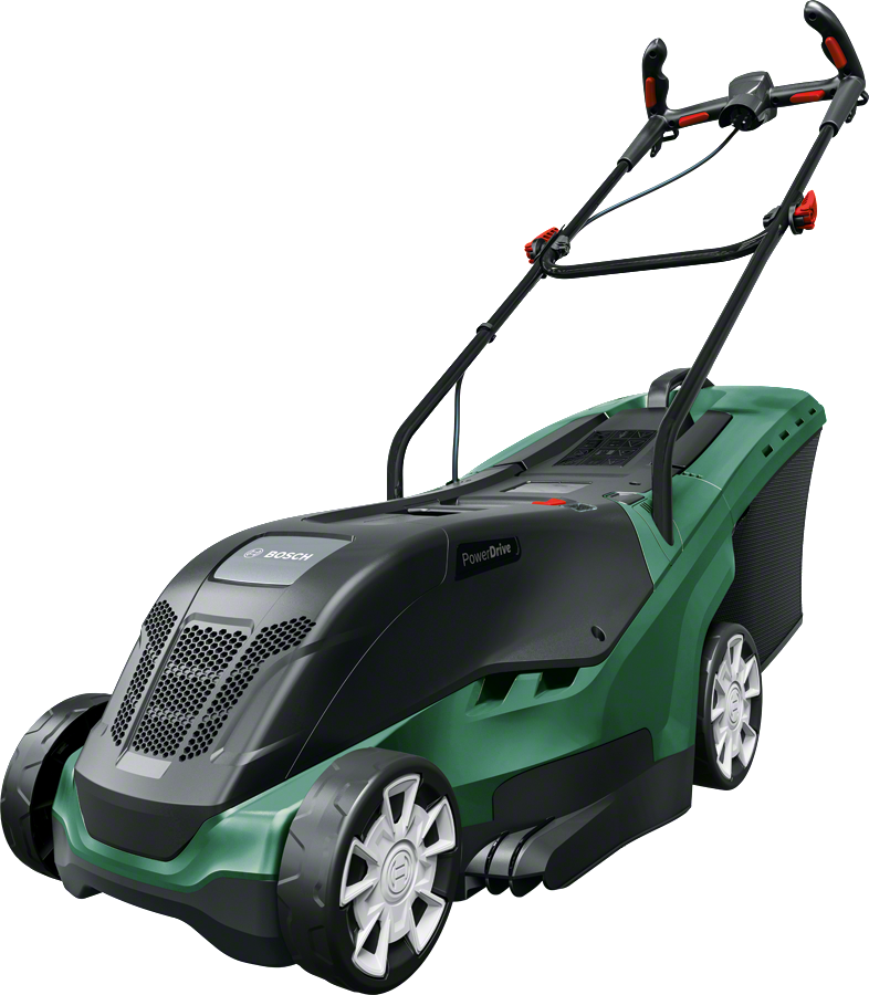 bosch rotak 37 ergoflex electric rotary lawn mower cutting width 37 cm diy tools. Black Bedroom Furniture Sets. Home Design Ideas