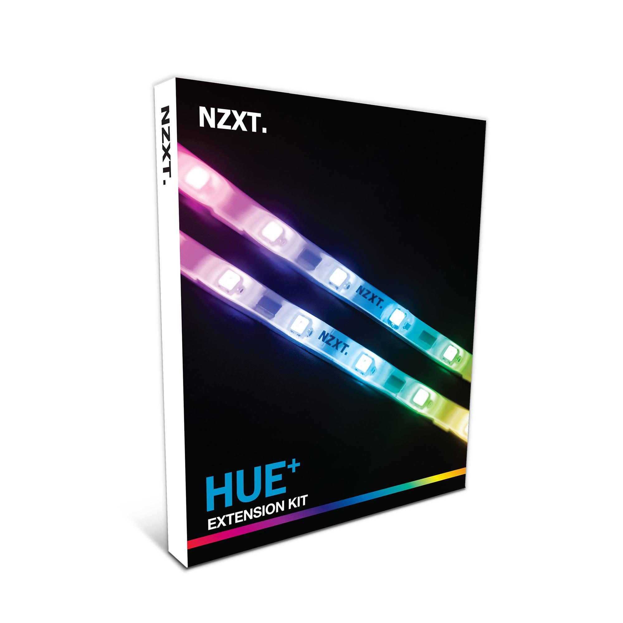 The HUE+ Extension Kit provides an addition of two LED strips to take your  PC lighting to the next level. With a combination of extension cables  included, ...