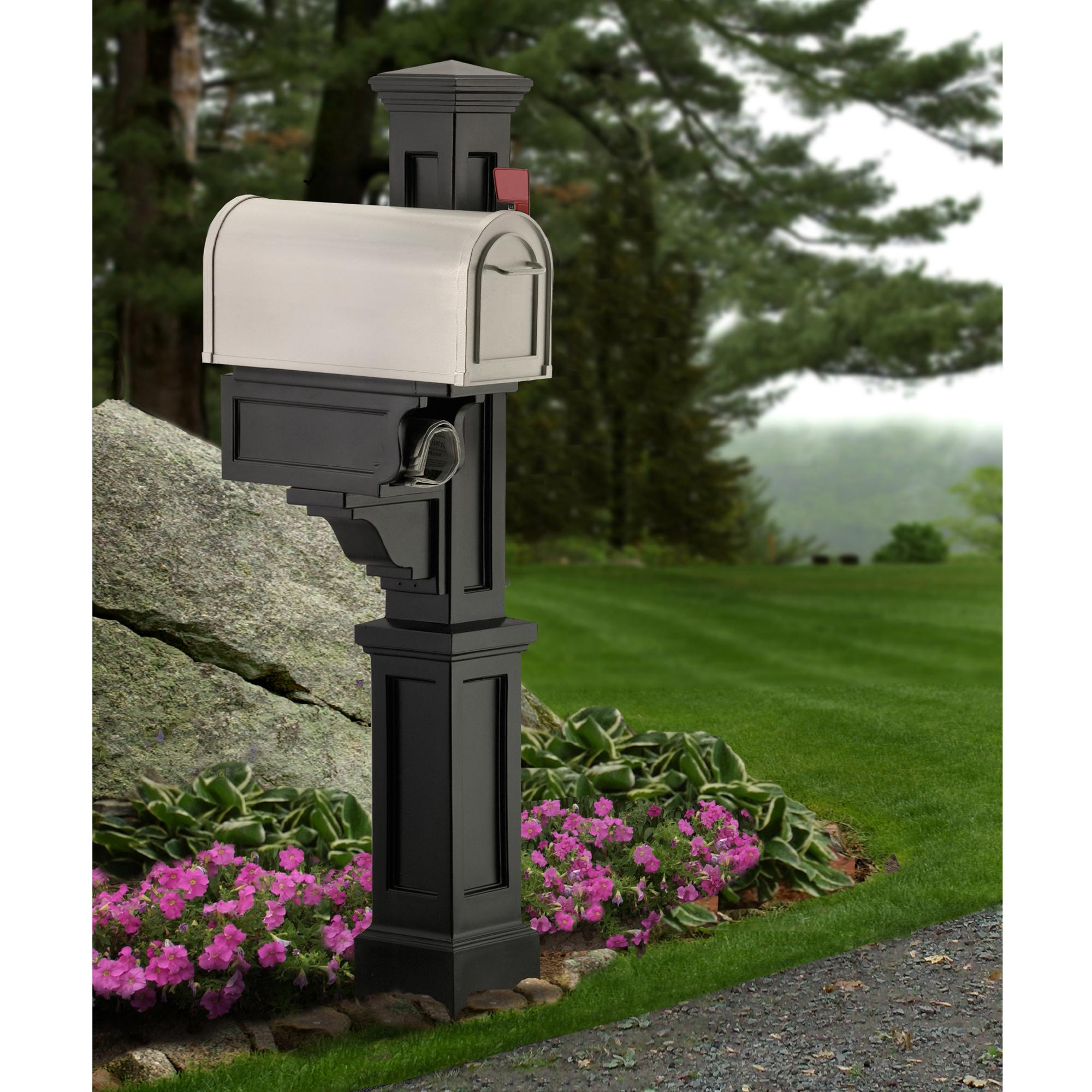 post locking flag mount rural pedestal ideas mailboxes wall decorative townhouse enthralling depot home vertical galvanized mounted personalized voguish mailbox gibraltar steel dw loc in wondrous