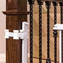 mountable stairs gate