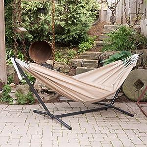 TUFF LUV Support portable pour hamac de jardin et de camping support uniquement