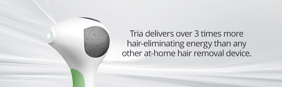 powerful tria benefits hair removal