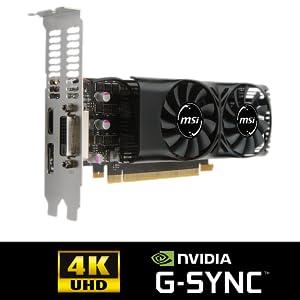 MSI GeForce GTX 1050 TI 4GT LP 4GB Nvidia GDDR5 1x: Amazon