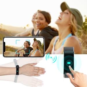 Pedometer watch for Women Men Kids waterproof fitness tracker