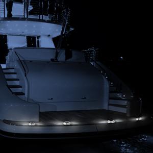 solar boat light