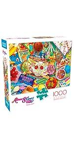 Banana Split - 1000 Piece Jigsaw Puzzle