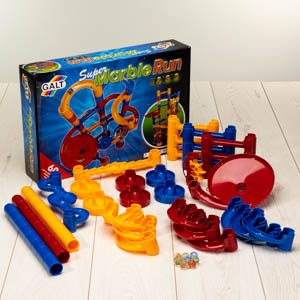 Super Marble Run construction kit