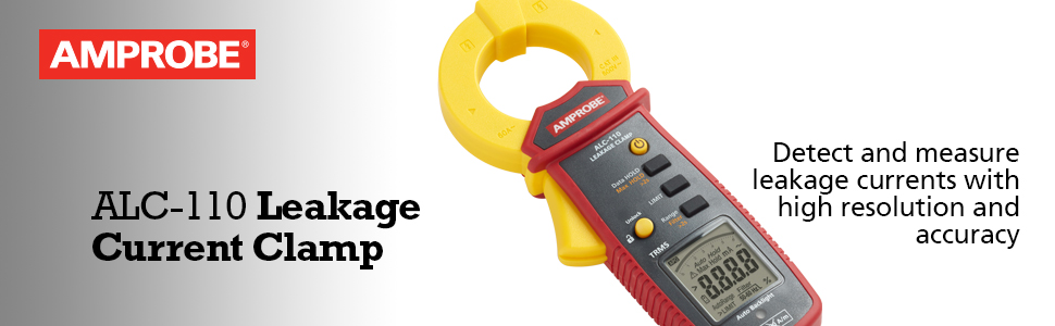 amprobe, fluke, leakage clamp, clamp meter