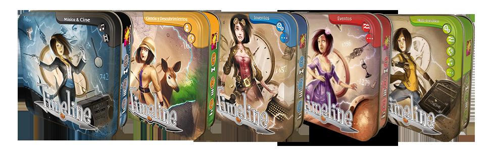Asmodee- Timeline música y Cine (TIM05ES): Amazon.es: Juguetes y juegos