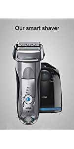 Braun Series 9 9296cc Men's Electric Foil Shaver, Wet and Dry with Clean and Renew Charge Station, R