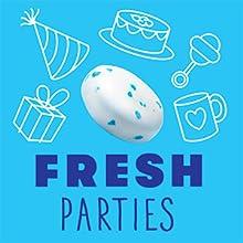 fresh parties, mentos gum, mentos fresh mint gum, mentos