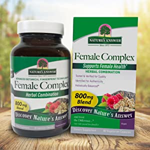 Natures Answer Female Complex Herbal Combination