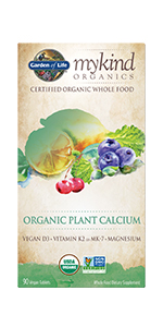 mykind calcium organic nongmo
