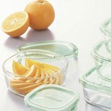 タッパー 耐熱ガラス パックアンドレンジ