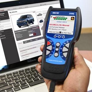 Innova 3100j is an ABS SRS EVAP OBD2 Scanner with Freeze Frame Function