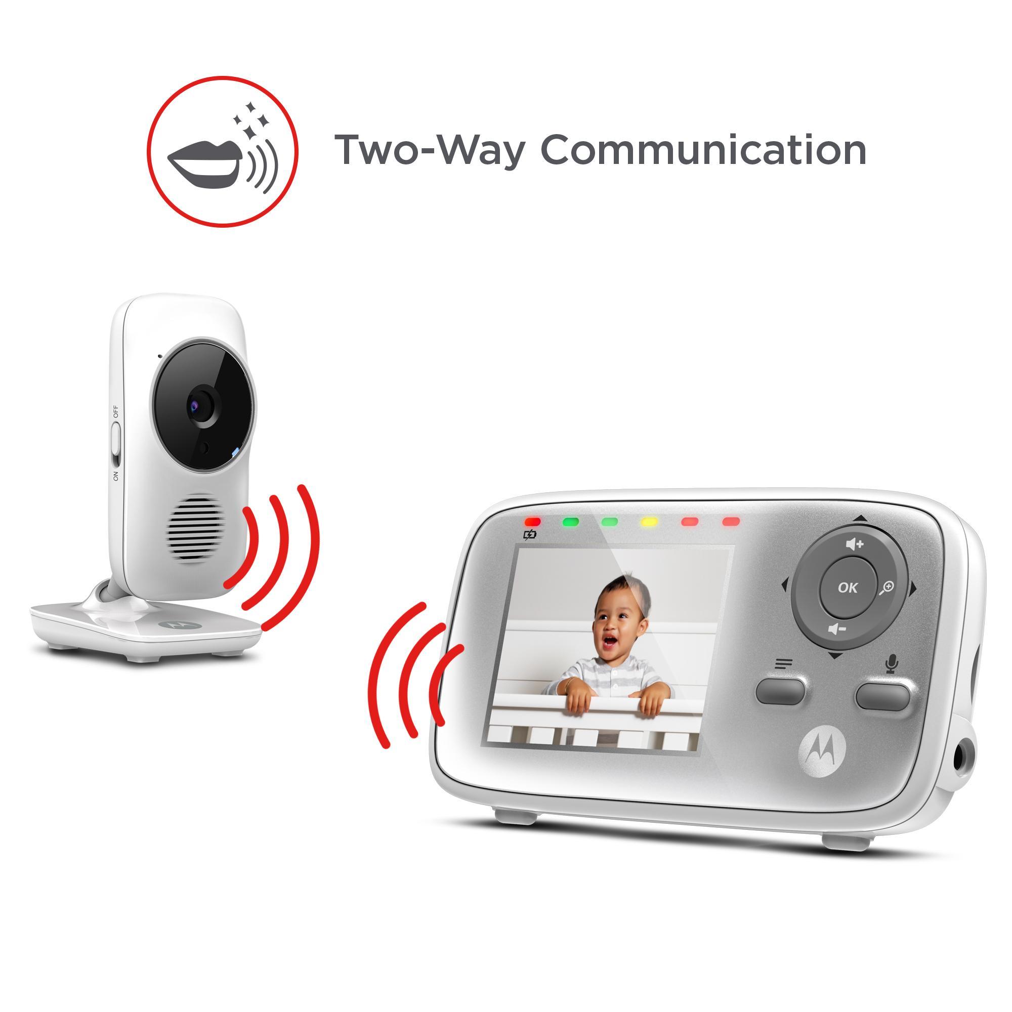 Motorola Mbp483 Video Baby Monitor With 2 8 Quot Handheld