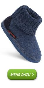 Zapatillas de casa para niños y niñas, cálidas, de punto, antideslizantes, suela flexible y suave